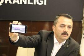 AK Parti Bolu İl Başkanı Nurettin Doğanay, CHP adayının konteyner seçim ofisini eleştirdi