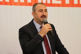 """Adalet Bakanı Gül: """"Cumhur İttifakı ilke ittifakıdır"""""""