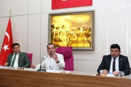 Başkan Özcan'dan, belediye tabelasına 'T.C.' ibaresi konulması talimatı