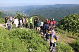 Bolu Dağı'nda, otomobil 80 metrelik uçurumdan yuvarlandı: 1 yaralı