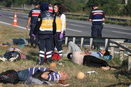 Bolu'da, TEM'de meydana gelen kazada ölü sayısı 2'ye çıktı