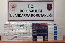 Bolu'da, kaçak sigara operasyonu: 6 gözaltı