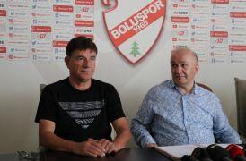 Boluspor'un yeni hocası Giray Bulak oldu