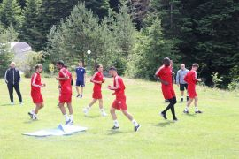 Sivasspor, Bolu'da kamp çalışmalarına başladı