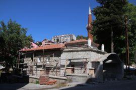 Gerede Yukarı Tekke Camii'nin restorasyonu devam ediyor