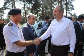 Adalet Bakanı Gül, Aladağ Gençlik Kampı'nı ziyaret etti