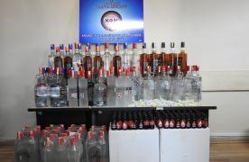 Bolu'da 3 büfeye kaçak içki operasyonu: 3 gözaltı