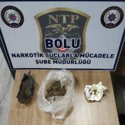 Bolu'da, 30 gram esrarla yakalanan şahıs tutuklandı