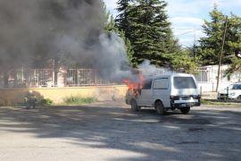 Bolu'da yangın tatbikatında çocuklar dumandan etkilendi