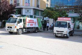 Bolu belediyesinden çöp sorununa 'Temizlik ambulansı' çözümü