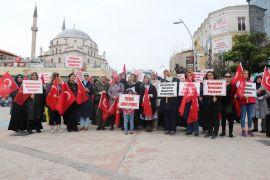 Bolulu kadınlardan, Diyarbakır'daki annelere destek eylemi