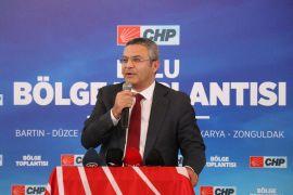 CHP bölge toplantısını Bolu'da yaptı