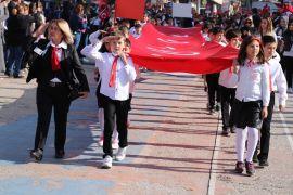 Bolu'da Cumhuriyet Bayramı binlerce kişinin katılımıyla kutlandı