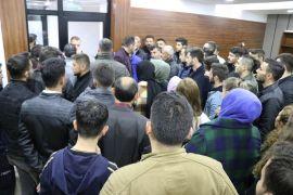 Bolu'da Ülkü Ocakları üyelerinden CHP'li meclis üyesine protesto
