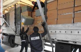 Bolu'da, 2 milyonluk kaçak elektronik cihaz operasyonu