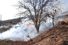 Bolu'da samanlık yangınında yüzlerce tavuk telef olmaktan kurtarıldı