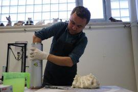 (Özel) Geçmişi insanlık tarihine dayanan seramik sanatını, 3 boyutlu yazıcıyla birleştirdi
