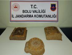 Bolu'da ilk Tevratlardan olduğu tahmin edilen el yazması kitap yakalandı