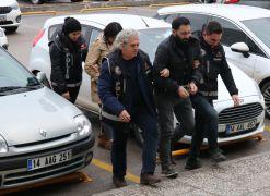 Bolu'da 10 kilo eroinle yakalanan 2 kişi adliyeye sevk edildi