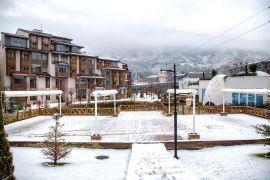 Bolu'nun önemli turizm merkezi beyaza büründü