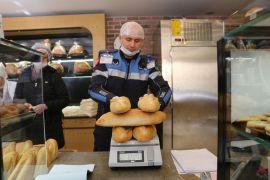 Bolu Belediyesi ekmek fırınlarını denetledi