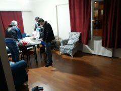 Bolu'da, kumar oynanan eve operasyon