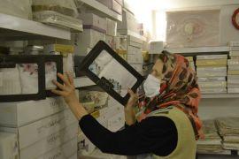 Bolu'da, 45 yıllık esnaf Kadriye Özgören dükkanına kavuştu