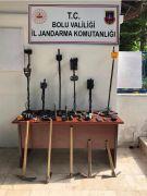 Bolu'da kaçak kazıyla ilgili 6 kişi hakkında yasal işlem başlatıldı