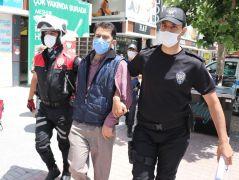 Bolu'da maske cezasından kaçmaya çalışan şahıs polis kovalamacası ile yakalandı