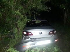 Lastiğe çarpan otomobil tarlaya uçtu: 7 yaralı