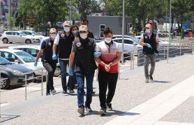 Bolu'da yakalanan 3 DEAŞ şüphelisi adliyeye sevk edildi