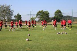 Samsunspor'un ikinci etap kampı Bolu'da devam ediyor