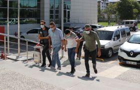 Bolu'da, eroinle yakalanan 3 kişi adliyeye sevk edildi