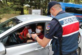 Bolu'da karantinaya uymayan 63 kişi yurda yerleştirildi