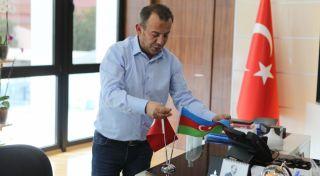 Bolu Belediye Başkanı'ndan Azerbaycan'a manevi destek