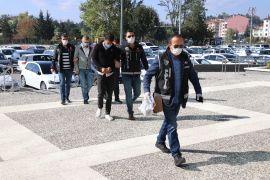 Bolu'da 263 gram uyuşturucu ile yakalanan 3 kişi adliyeye sevk edildi