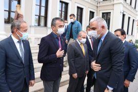 Kültür ve Turizm Bakanı Ersoy, Bolu'nun turizm merkezlerini havadan inceledi