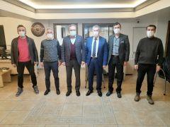 Basın İlan Kurumu Genel Müdürü Duran'dan Bolu basınına ziyaret