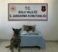 Bolu'da 1 kilo esrarla yakalanan şahıs tutuklandı