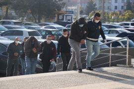 Bolu'da hırsızlık şüphelisi 3 kişi adliyeye sevk edildi