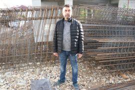 İnşaatının demirlerini çalan hırsızı yakalamak için 1 hafta nöbet tuttu