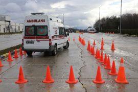 Bolu'da sağlık personeline sürüş eğitimi verildi