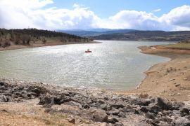 Bolu'nun içme suyu göletinde seviye yüzde 43'e yükseldi