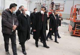 Sanayi ve Teknoloji Bakanı Varank, Bolu'da sanayi bölgelerini ziyaret etti