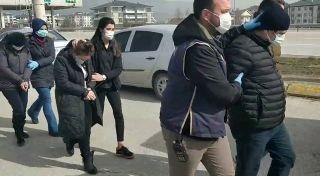 Yurtdışına kaçmaya çalışan 6 FETÖ şüphelisi yakalandı