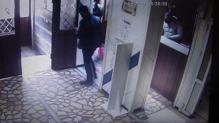 HES kodu sorgusunda riskli çıkan müşteri polisi duyunca otelden kaçtı