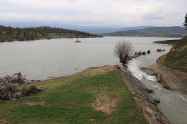 Yağışlı havalar Bolu'nun içme suyu göletini doldurdu