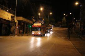 Bolu'da belediyenin otobüsle yaptığı müzik yayını polis tarafından sonlandırıldı