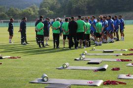 TFF 1. Lig'in yeni takımı Eyüpspor'un Bolu kampı başladı