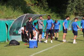 Balotelli ilk antrenmana çıktı